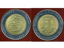 SAN MARIN  ITALY   500 lire 1982