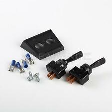 New DUAL Calterm Automotive TOGGLE SPST Toggle Switch 20 AMP 12V 41020