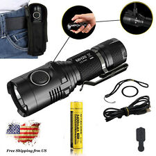 Nitecore MH20 Rechargeable CREE XM-L2 U2 LED Flashlight 1000lm +NL189 Battery
