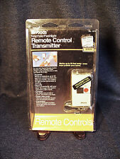 Vintage Woods Keychain/Flashlight Remote Control Transmitter #1474 New Old Stock