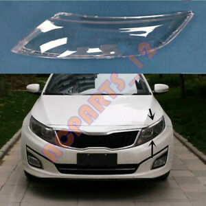 Left Headlight Cover Clear PC With+ Glue Replace For KIA K5 Optima 2014-2015
