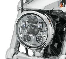 5-3/4 5.75 LED Chrome Daymaker Projector Headlight Hi/Lo Fit Harley Davidson DOT