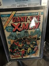 giant size x-men #1 cgc 7.5 off white to white pages 1975