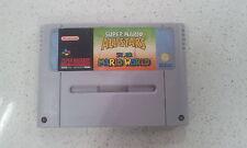 Super Mario All Stars + Super Mario World Super Nintendo SNES PAL Version