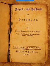 Witschel-Morgen- und Abendopfer in Gesängen-Wien, Bauer 1837