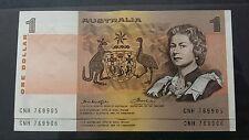 2 consecutive 1976 1 Dollar notes Knights Wheeler EF CONDITION