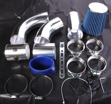 "3"" 76mm COLD AIR INTAKE KIT FILTER UNIVERSAL INDUCTION Drift Track Race Rally"