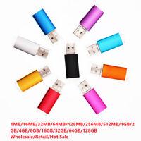 4/16/32/64/128GB MB USB 2.0 Flash Memory Stick Pen Drive Storage Thumb U Disk