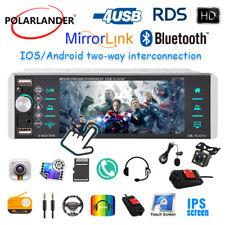 "5.1"" 1Din Radio AI Smart Voice 4USB Android 10 iOS Mirrorlink RDS AM FM +Cam+DVR"