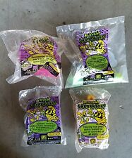 Dexter's Laboratory Cartoon Network 1997 Wendy's Kid's Meal Toy Lot of 4