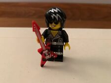 Rock Star Series 12 Hair Band Guitar Leather 80s LEGO Minifigure Mini Figure
