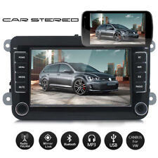 """7"""" Car Stereo MP5 Player Bluetooth Mirror Double DIN For VW GOLF 5 V PASSAT Polo"""