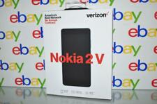 Verizon Wireless Nokia 2V 8GB Prepaid Smartphone, Blue/Silver NIB