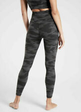 ATHLETA Elation Camo 7/8 Tight - S - SMALL - Black Camo - $89 Fitness