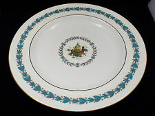 "Wedgwood England China Appledore W3257 13"" Round Platter Chop Plate, Old Mark"