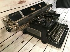 "Vtg 1927 Royal Model 10 Manual Typewriter 20"" carriage Serial 20-1160287 Antique"