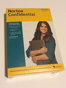Norton Identity Theft Protection Software Symantec Confidential New Windows CD