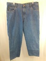 Cabelas Flannel Lined Demin Blue Jeans Mens 40x30 Casual Outdoor Insulated Pants