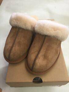 UGG Australia Women's Scuffette II Slipper CHESTNUT 5661 Sizes 6-11