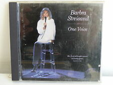 CD ALBUM BARBRA STREISAND One voice 450891 2