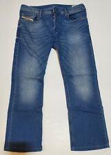 Diesel Zatiny Bootcut Dark Blue Button Fly Denim Jeans Mens 32x29