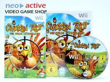 Chicken Riot - Die wilde Hühnerjagd   Nintendo Wii   Anleitung, OVP, Deutsch #S