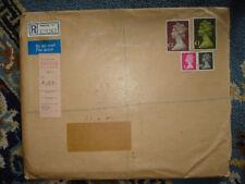 British 5/- Denomination Stamp Covers