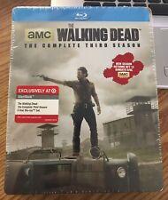 The Walking Dead: The Complete Third Season Target Exclusive Steelbook
