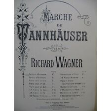 WAGNER Richard Marche de Tannhäuser Chant Orchestre partition sheet music score