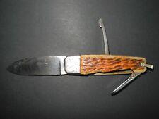 Ancien couteau de poche pliant BOULEDOGUE 53 MF St Etienne