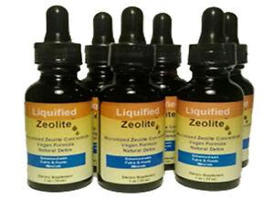 Liquified Zeolite Natural Liquid Detox 1 Oz ( Single Bottle )