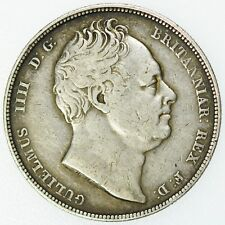 1836 William IIII Halfcrown Great Britain Silver Coin