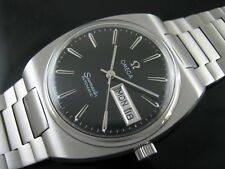 Classic OMEGA SEAMASTER Automatic Day Date Men's Watch 80's Nice Rare Collection