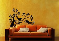 Wall Stickers Vinyl Decal Birds Tree Branch Nature Fauna ig110