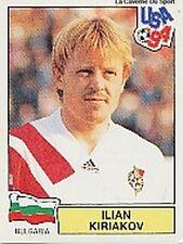 N°251 ILIAN KIRIAKOV BULGARIA PANINI WORLD CUP 1994 STICKER VIGNETTE 94