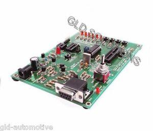 PROGRAMMATORE DEMOBOARD PER MICROCONTROLLORI MICROCHIP PIC con MEMORIA FLASH
