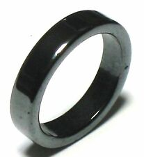 10 MAGNETIC hematite rings bands Lot wholesale 4 6 8 10 mixed sizes