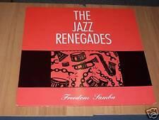 LP VINILE-THE JAZZ RENEGADES-FREEDOM SAMBA-POLYDOR 1989