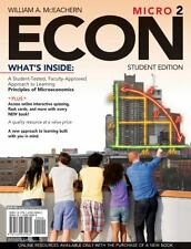 ECON for Microeconomics by William A. McEachern (2009, Paperback)
