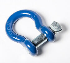 1 Blue D Ring Bow Shackle Galvanized Pin Clevis Jeep Towing 85ton 18500lb