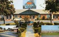Paramus New Jersey Arcola Motor Lodge Multiview Vintage Postcard K50198