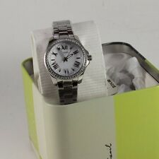 NEW AUTHENTIC FOSSIL CECILE SILVER CRYSTALS WOMEN'S AM4576 WATCH