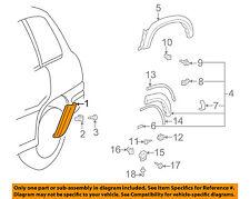 TOYOTA OEM RAV4 EXTERIOR TRIM-QUARTER PANEL-Body Side Molding Left 7565242901