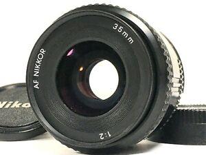 TESTED [Mint] Nikon AI AF NIKKOR 35mm f/2 Wide Angle F Mount Lens From JAPAN