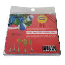 High Quality 3D Jelly Gelatin Tools Art Flowers Tools Peacock (5pcs/Set #14)