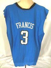 Orlando Magic NBA Mens Steve Francis #3 Graphic Jersey Blue Black Size XL
