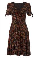 Roman Originals Women's Ditsy Floral Dress Sizes 10-20