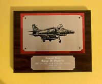 Vintage USMC Fighter Attack Squadron VMA 211 Plaque, Original US MARINES 1985