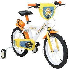 16 Zoll Minions Kinderrad mit Stützrädern Bob Kinderfahrrad Kinder B-WARE