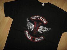 Vampiro Wrestling Tee - Professional Wrestler Masked Republic Lucha T Shirt Sm